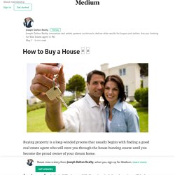 How to Buy a House □ □