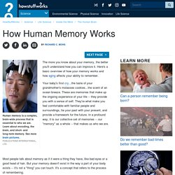 How Does Memory Works?