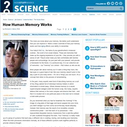 How Human Memory Works
