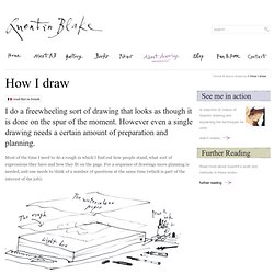 Quentin Blake - How I Draw