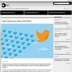 How to improve your classes with Twitter?