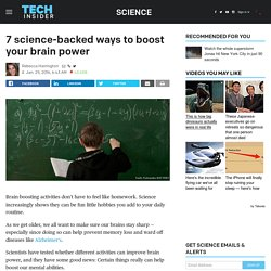 How to improve your memory with science