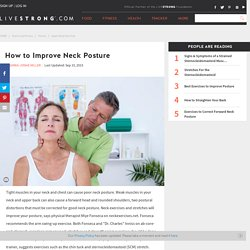 How to Improve Neck Posture