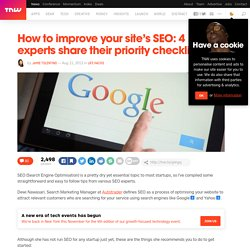 How to improve your site's SEO: 4 experts share their priority checklist
