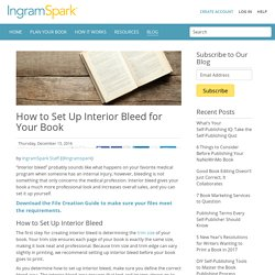 How to Set Up Interior Bleed for Your Book