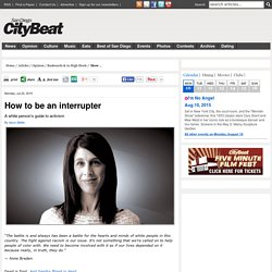 How to be an interrupter