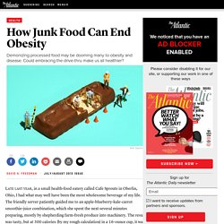junk food obesity essay