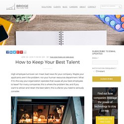 How to Keep Your Best Talent