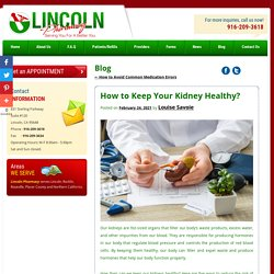 How to Keep Your Kidney Healthy?