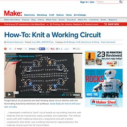 Knit a Working Circuit