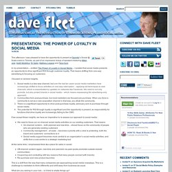 marketing+social media - Dave Fleet.com