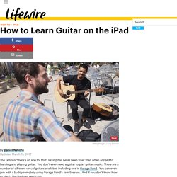How to Learn Guitar on the iPad