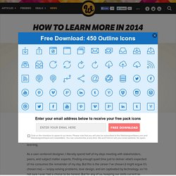 How to learn more in 2014