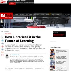 How Libraries Fit in the Future of Learning