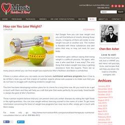 Best Nutritional Weight Loss Programs San Jose