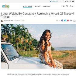 How I Lost Weight - mindbodygreen