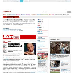 How LulzSec hacked the Sun's website | Technology