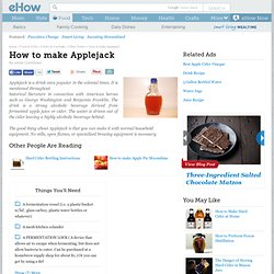 How to make Applejack