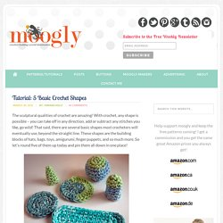 How To Make 5 Basic Crochet Shapes