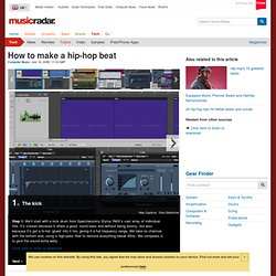 How to make a hip-hop beat