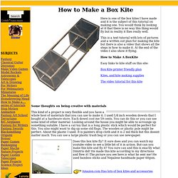 How to Make a Box Kite
