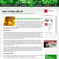How To Make CBD Oil