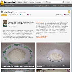 DIY: Cheesemaking Equipment: Free PDF