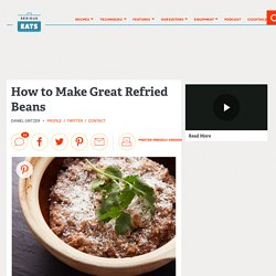 How to Make Great Refried Beans