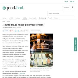 How To Make Hokey Pokey Ice Cream