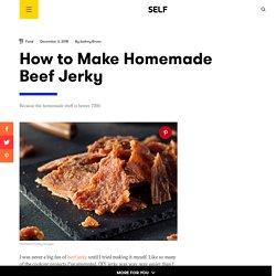 How to Make Homemade Beef Jerky