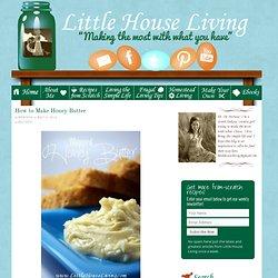 How to Make Honey Butter – Whipped Honey Butter
