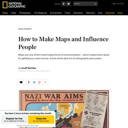 How to Make Maps and Influence People