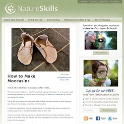 How to Make Moccasins