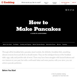 How to Make Pancakes - NYT Cooking