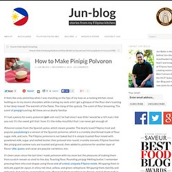 How to Make Pinipig Polvoron
