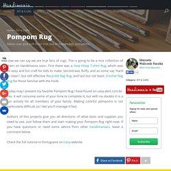 How to Make Pompom Rug