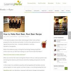 How to Make Root Beer, Root Beer Recipe
