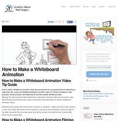 Video scribing, Whiteboard Videos, and Animation Video production - ydraw.com
