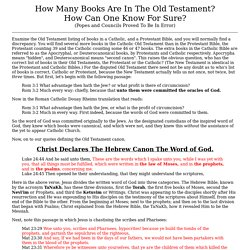 How Many Books Are In The Old Testament How Many Books Are In The Old ZAoaCniR