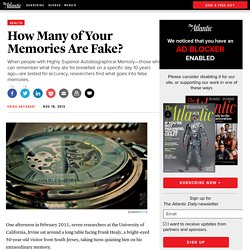 How Many of Your Memories Are Fake?