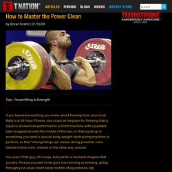 How to Master the Power Clean