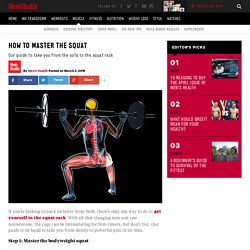 How to master the squat