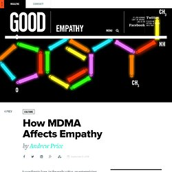 How MDMA Affects Empathy
