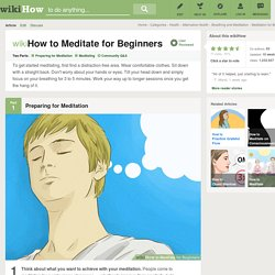How to Meditate for Beginners: 15 Steps