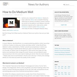 How to Do Medium Well