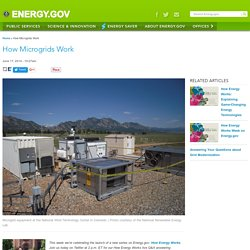 How Microgrids Work