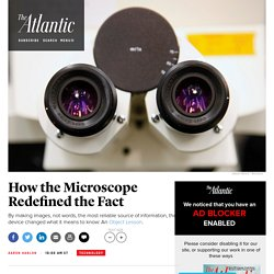 How the Microscope Redefined the Fact