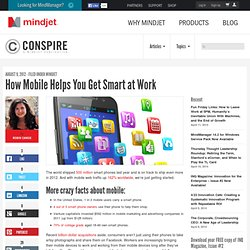How Mobile Helps You Get Smart at Work
