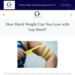 How Much Weight Can You Lose with Lap-Band