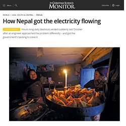 How Nepal got the electricity flowing